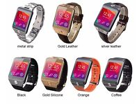 G2 no.1 smart watch (can be linked to smart phone)(plus metal strap free!)(changeable straps)