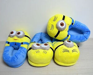 Despicable Me Minion Plush Slippers