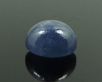 2.38 Ct Natural Cornflower Blue Sapphire Gem Round Cabochon