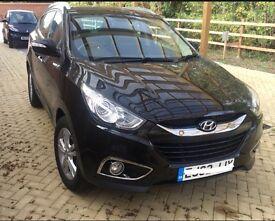 2012 Hyundai ix35 manual 1.7 CRDi premium Fully loaded