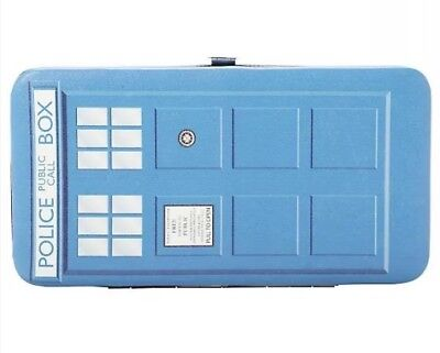 Doctor Who Tardis Police Public Call Box Hinge Wallet