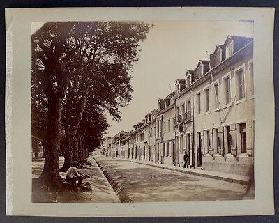 Photo Gaston Emerigon Fabre -  Martinique Fort de France - Rue du Gouvernement -