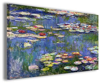 Quadri famosi Claude Monet XXI stampe riproduzioni su tela copie famose falsi