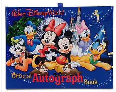Official Walt Disney World Parks And Resorts Autograph Book New   Free Shipping