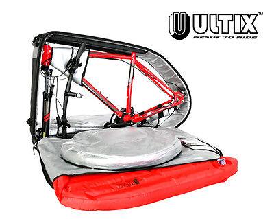ULTIX PADDED ROAD MOUNTAIN BIKE TRAVEL BAG CYCLE LUGGAGE BOX CARRY CASE