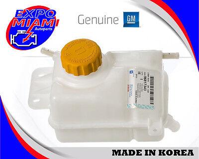 Chevrolet Aveo 1.6 Coolant Reservoir Tank Bottle WITH CAP ORIGINAL GM 96817343