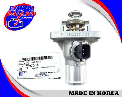 Genuine for 09-14 Aveo Cruze Engine Coolant Thermostat Housing (W/Gskt) 55597008