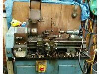 Machine lathe single fase