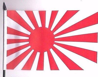 Japan Rising Sun Navy Ensign Medium Hand Waving Flag