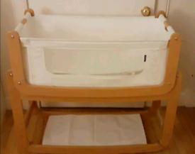 Snuzpod cosleeper crib