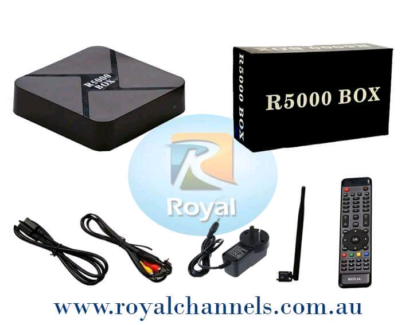 SPECIAL NOW, Royal iptv box for arabic with 1 year service