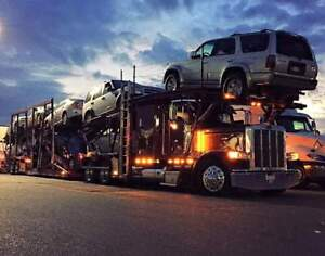 Car carrier (stinger steer) with contract Toronto Area