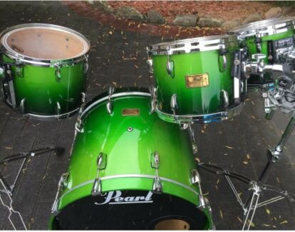 Pearl masters mmx maple drum kit