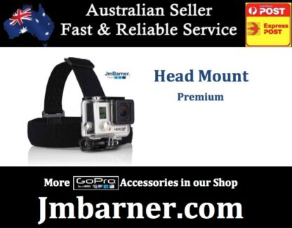 Head Strap Mount for GoPro (Hero 2 3 3+ 4) also Xiaomi Yi Mi pro Annerley Brisbane South West Preview