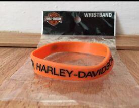 Harley Davidson wrist band