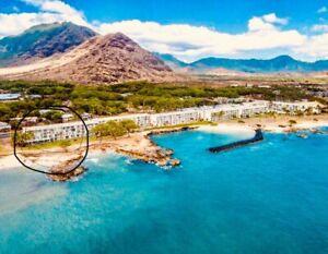 OAHU HAWAII OCEAN FRONT 1 bed CONDO (1 month rental)