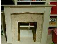 Fire place surround mantlepiece