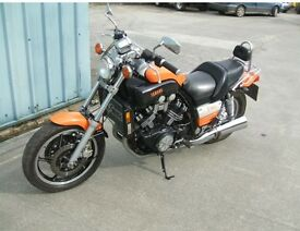 Vmax 1200cc full power might swap for the right bike
