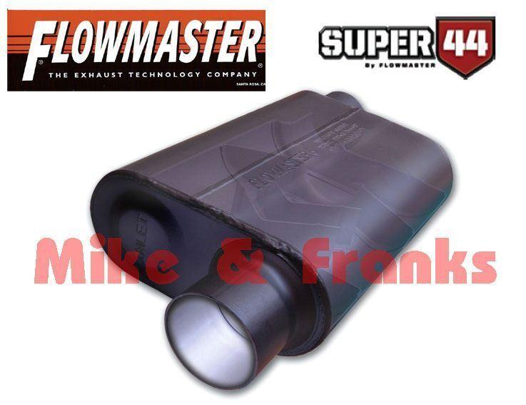 Flowmaster Super 44 Uni Auspuff Schalldämpfer Chevrolet Dodge Jeep Ford Plymouth
