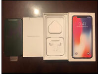 Iphone x 64gb Immaculate Condition only 5 days old