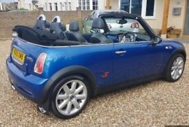 MINI COPPER S CONVERTIBLE 1.6 FULL SERVICE HISTORY £2500