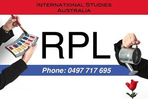 RPL - Recognition of Prior Learning Perth Perth City Area Preview