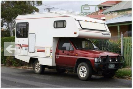 "4WD ""Go Anywhere"" Winnebago Camper"