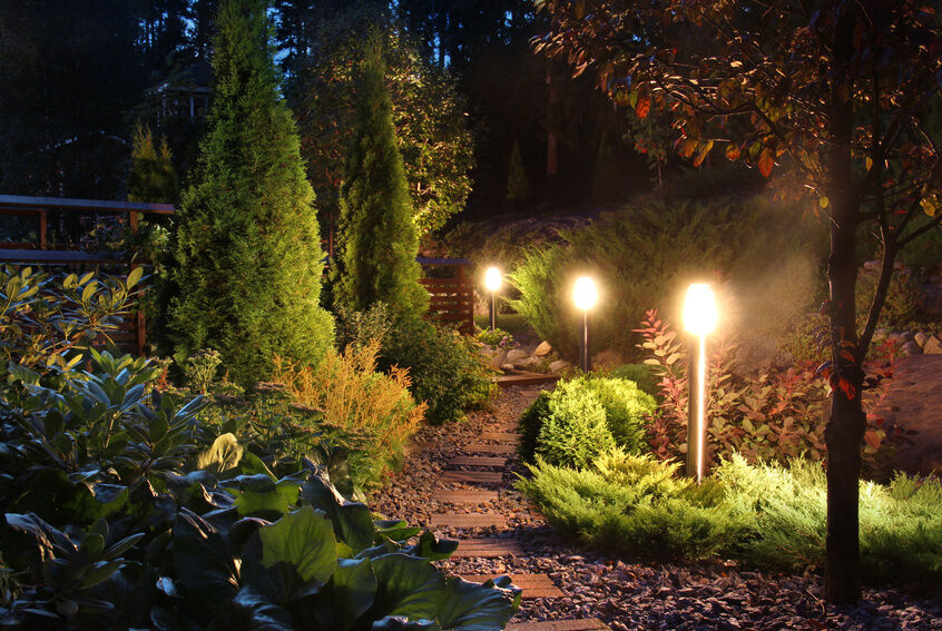 How to Install Garden Lighting eBay