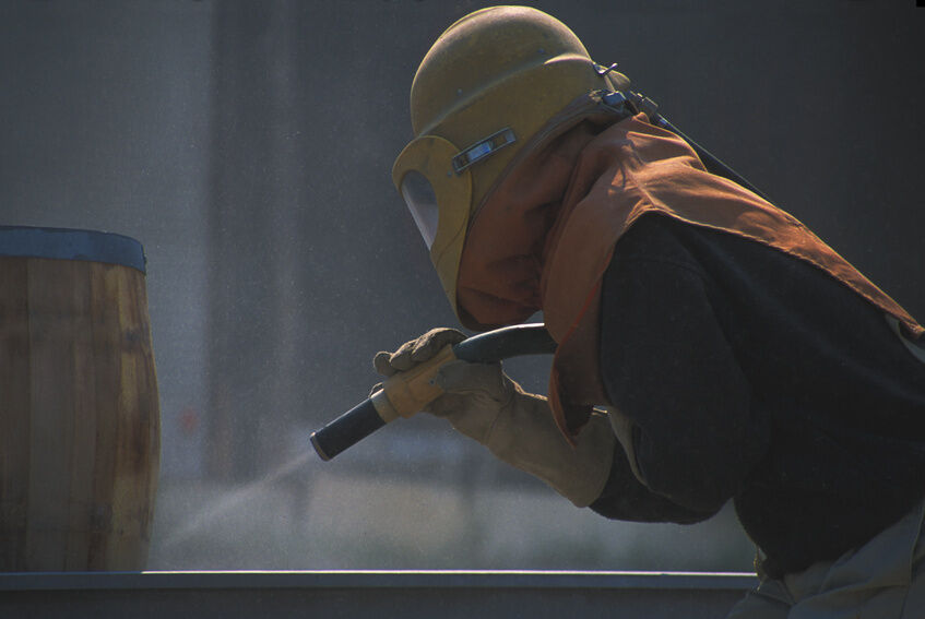 Your Guide to Sandblasting Materials