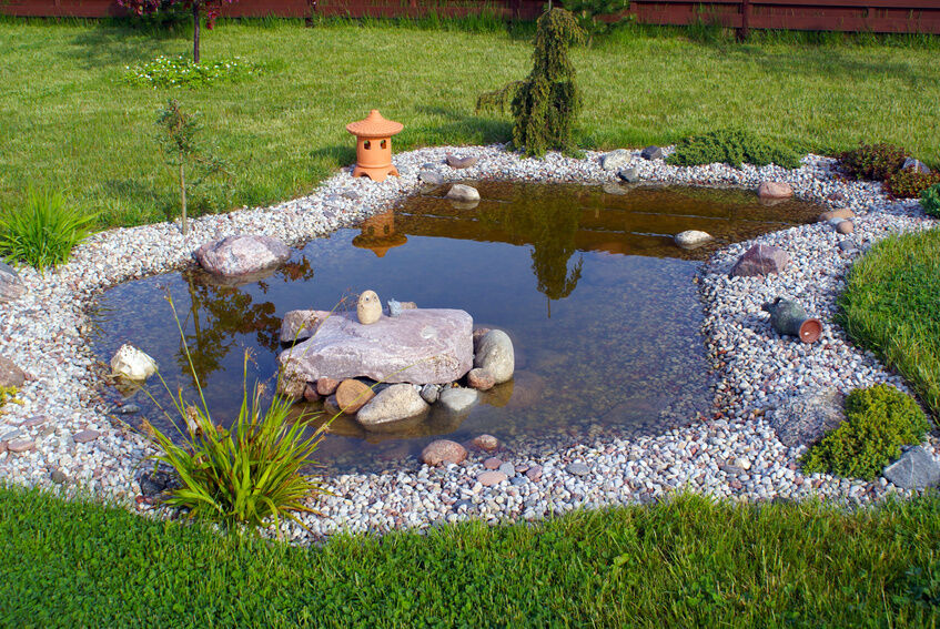 Build a Water Feature