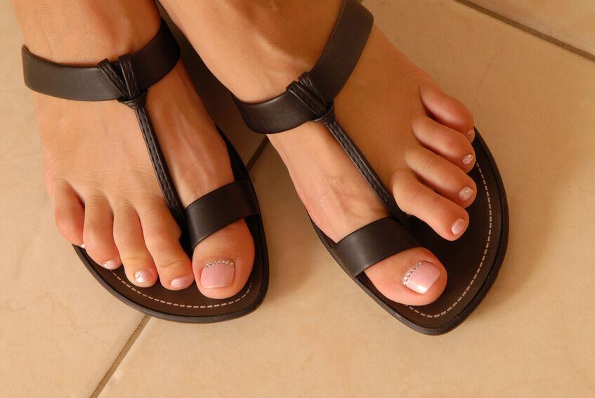 Klassiker unter den Sommerschuhen: Jesus-Sandalen