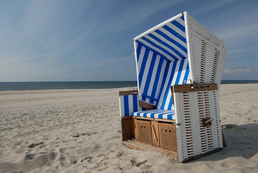 Strandkorb überwintern