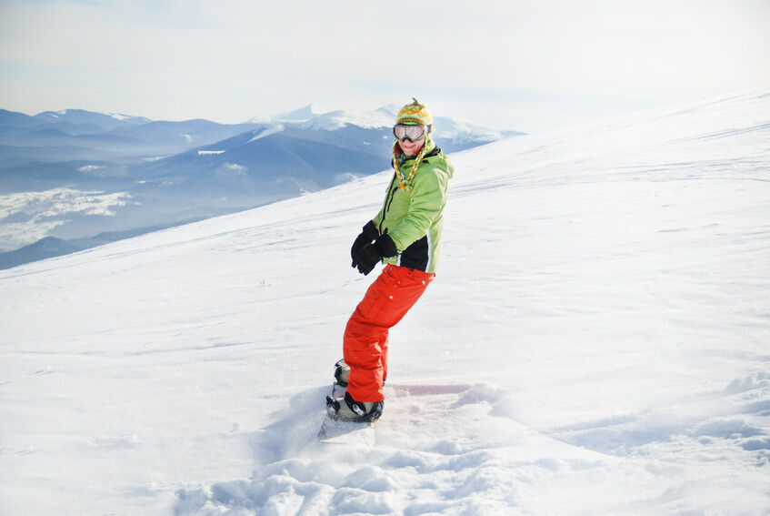 Und wo snowboarden Sie? Tipps für den Kauf von Burton-Snowboards