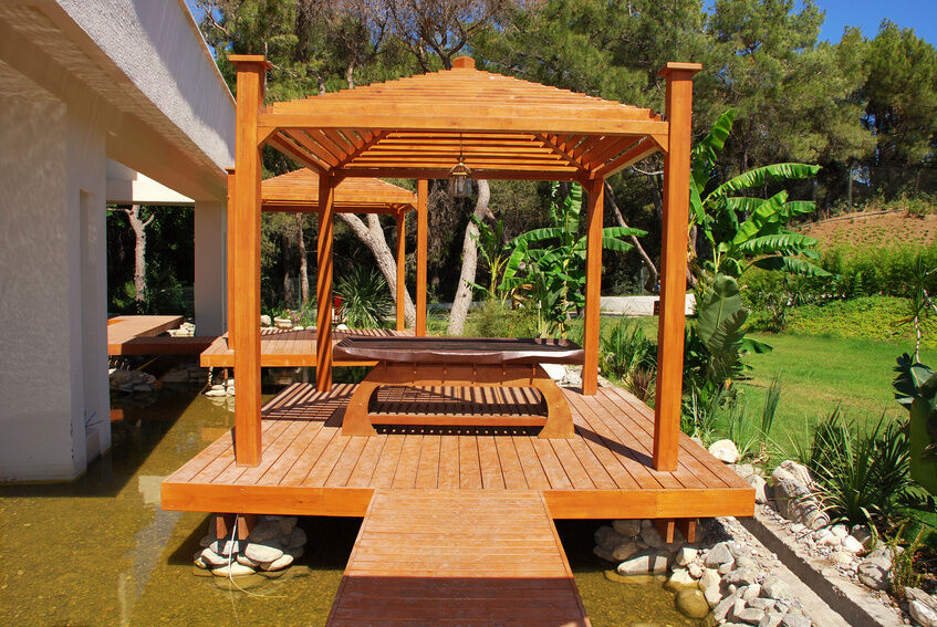 Top 5 deck styles ebay for Decks and gazebos
