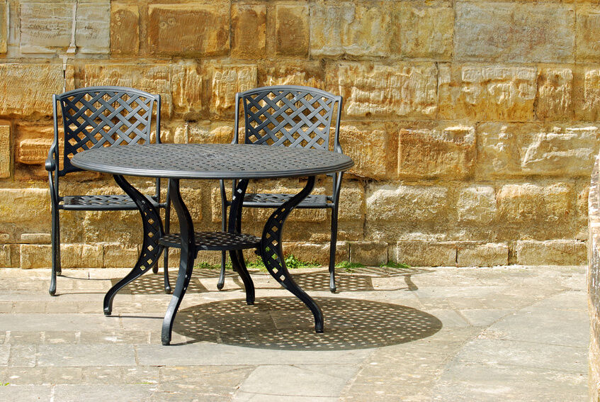 How To Clean Wrought Iron Patio Furniture Part 96