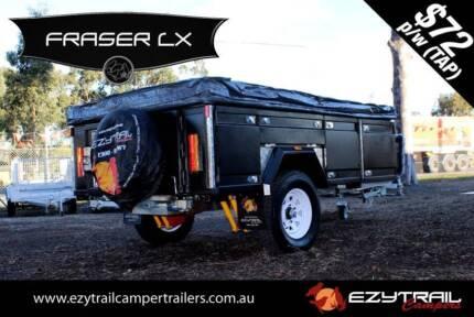 Fraser LX Step-Through Soft Floor Camper Trailer Lansvale Liverpool Area Preview