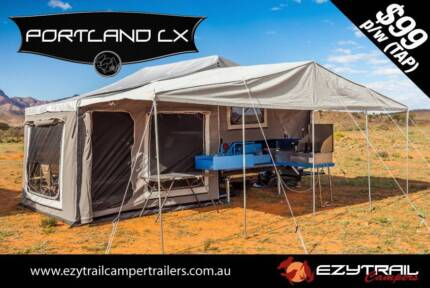 Portland LX Step-Through Camper Trailer Lansvale Liverpool Area Preview