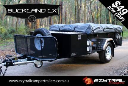 Open-Side Camper Trailer Package: Buckland LX Lansvale Liverpool Area Preview