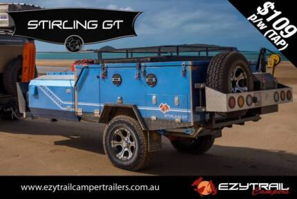 Deluxe Forward Folding Camper Trailer Lansvale Liverpool Area Preview