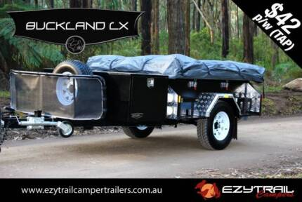 NEW! Open-Side Camper Trailer Package: Buckland LX Lansvale Liverpool Area Preview