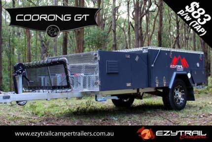 Ezytrail's Affordable Forward Fold Camper Trailer Package Lansvale Liverpool Area Preview