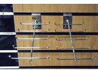 4 slatwall tie rack