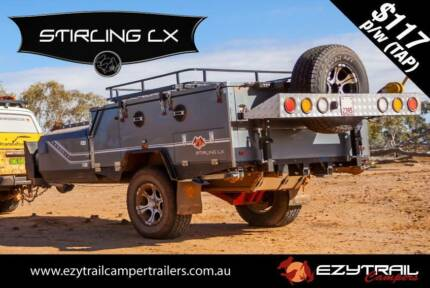 K-Series Stirling LX Forward Folding Camper Trailer Campbellfield Hume Area Preview