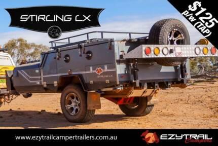 2015 Luxury Stirling Forward Folding Camper Trailer Slacks Creek Logan Area Preview