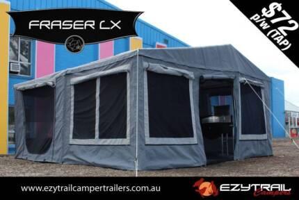 NEW! Ezytrail Step-through Fraser LX Camper Trailer Slacks Creek Logan Area Preview