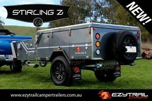 EX DEMO Forward Fold Stirling Z Camper Trailer Lansvale Liverpool Area Preview