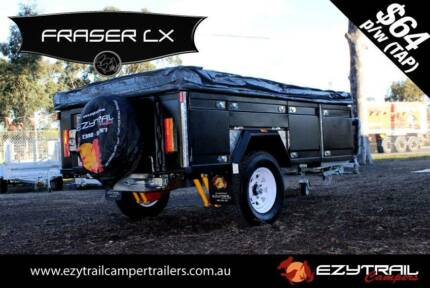 NEW! Step-Through Soft Floor Camper Trailer Kilsyth Yarra Ranges Preview