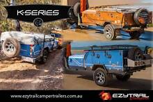 K-Series Camper Trailers – Forward Fold, Hard Floor & Step-Throug Kilsyth Yarra Ranges Preview