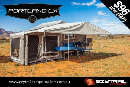 Ezytrail Portland LX Step-Through Family Camper Trailer Campbellfield Hume Area Preview