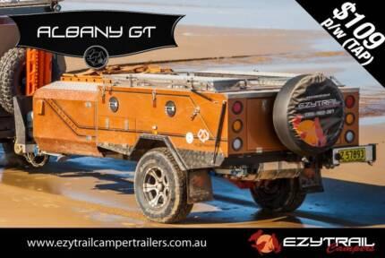 2015 Hard-Floor Camper Trailer : Ezytrail Albany GT K-Series Lansvale Liverpool Area Preview
